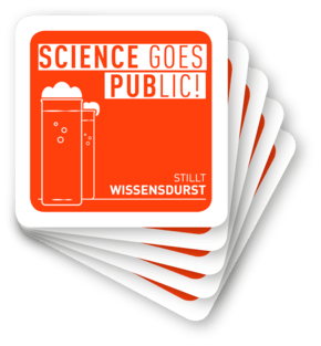 Logo: Science goes Public!